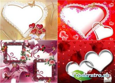 Рамки для фотошопа - Моя любовь