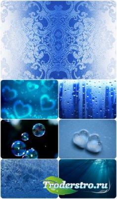 Текстуры с фоном синего цвета