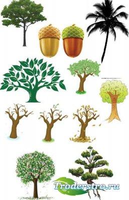 Деревья в векторе / tree in vector