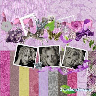 Скрап-набор Lilac forewer (Лиловое навсегда)