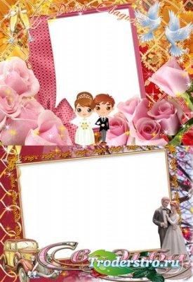 Свадебные рамки в PSD