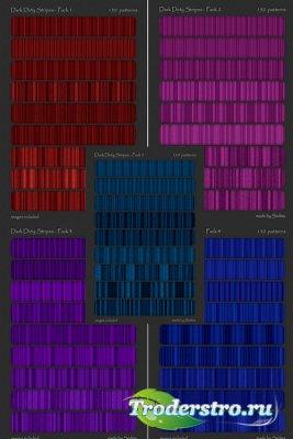 Заливки для фотошопа - Яркие полосы