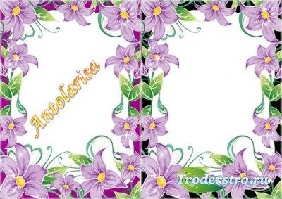 Рамочки для фото  с лилиями