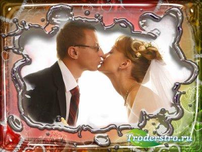 Рамка для Photoshop - Романтика