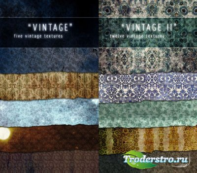 Коллекция винтажных текстур (Часть 1-2)