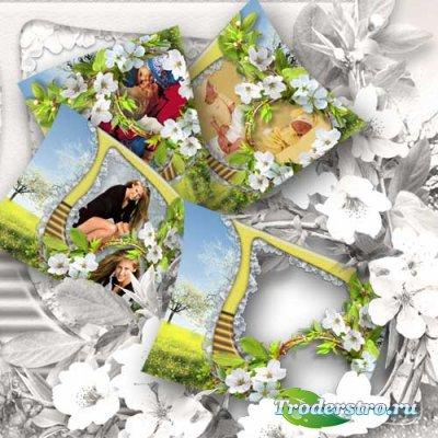 Рамка для фото - Весенний цвет