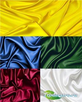 Фоны - Шелковые ткани
