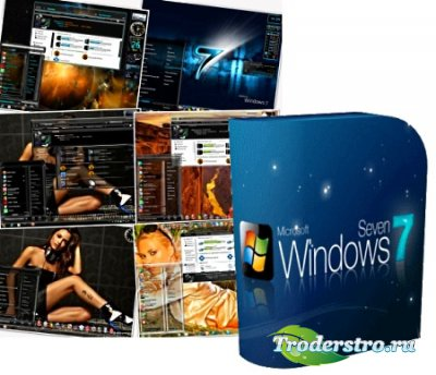Креативные темы для Windows 7 (Seven) (9 шт)