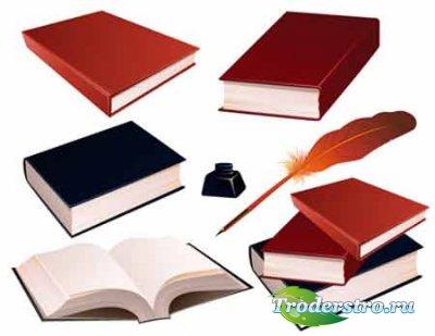 Векторные книги / books vector