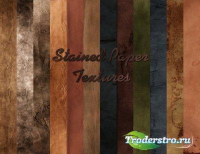 Текстуры - Крашенная бумага