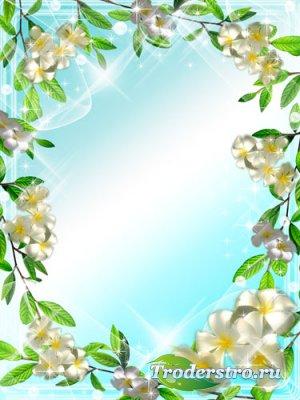 Рамка для фото - Магнолии цветут