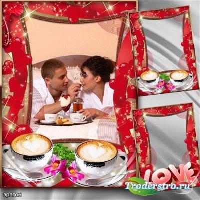 Романтическая рамка для фотошопа – Это любовь
