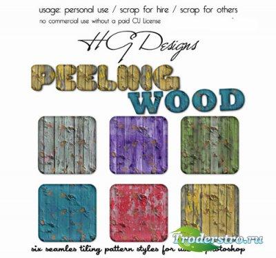Стили для Photoshop - Деревянные Стили Очищения