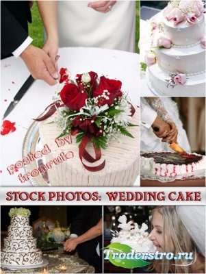 Фото-сток: Свадебный торт