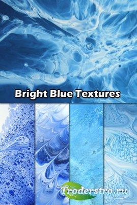 Набор Ярких Синих Текстур