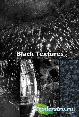 Черные высококачественные текстуры