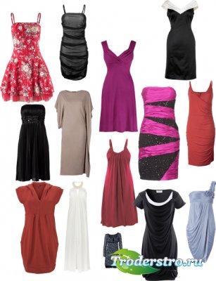 Женские платья - Шаблоны ч.4
