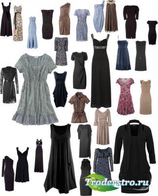 Женские платья - Шаблоны Photoshop ч.5