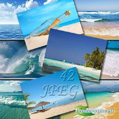 Морские фоны для фотошопа - Шум прибоя