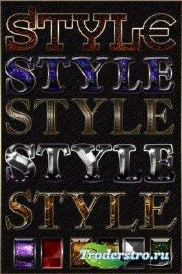 Cтили гламурный эффект/Styles glamour effect