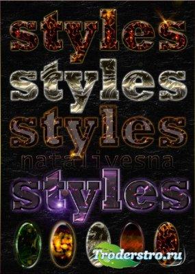 Эффектные стили / Effective styles a photoshop 2