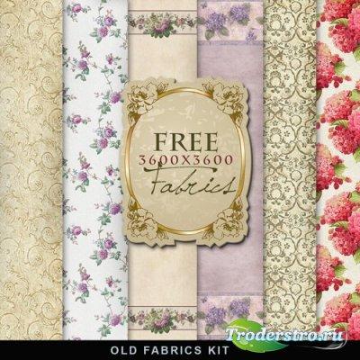Текстуры - Старая Цветочная Ткань