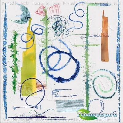 PNG Клипарт - Акварельные Линии (Watercolor Lines)