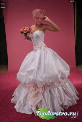 Женский шаблон - милая невеста