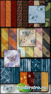 50 бесшовных текстур (Patterns)