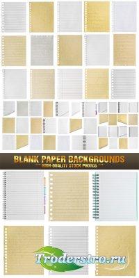 Фотоклипарт - Бумажные бланки и страницы