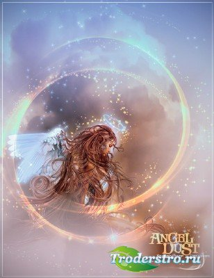 Кисти для Photoshop – Ангельская пыль / Photoshop Brushes – Rons Angel Dust