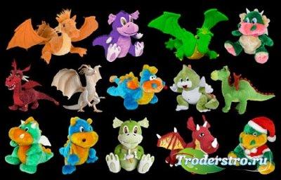 Клипарт Дракончики - игрушка года 2012