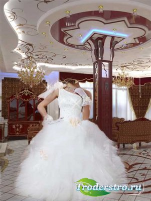 "Шаблон для фотошопа ""Невеста"""