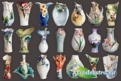 Клипарт - Декоративные вазы