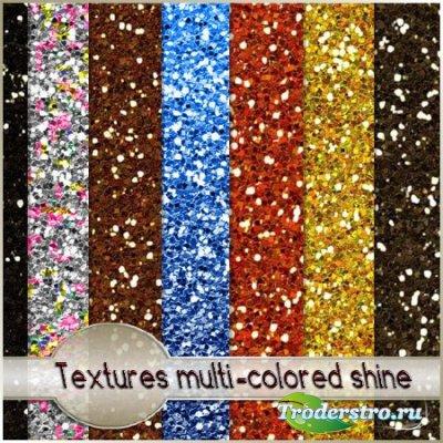 Текстуры - разноцветный блеск/ Textures multi-colored shine