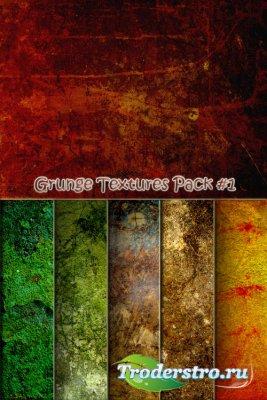Набор изящных гранжевых текстур (Часть 1)
