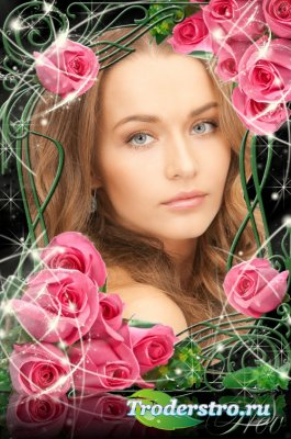 Рамочка для фото - Романтические розы