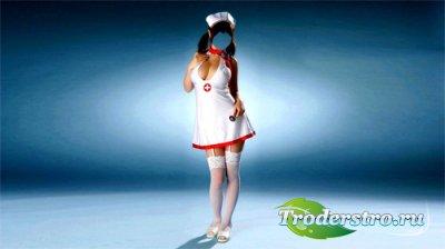 Женский шаблон - медсестра скорой помощи