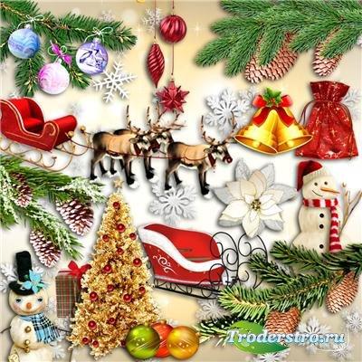 PNG клипарт - Новогодний праздник