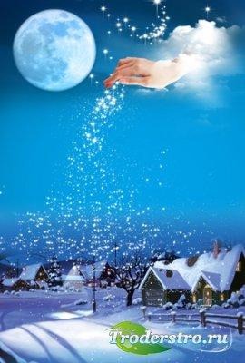 PSD исходник - Счастливого Рождества