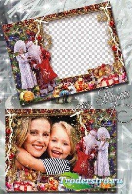 Рамка для фото – Новый Год, как волшебство!