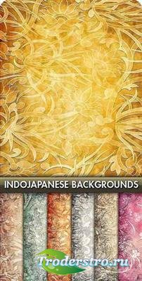 Коллекция фонов в японском и индийском стиле