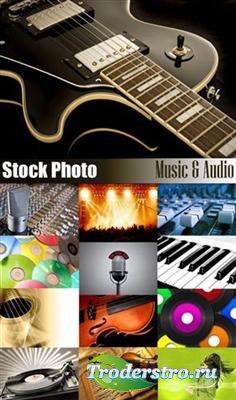 Stock Photo - Music and Audio
