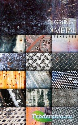 Текстуры - Гранжевый металл