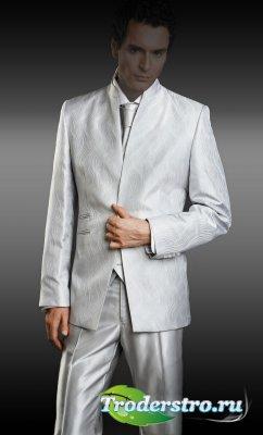 Мужской оригинальный костюм для фотомонтажа