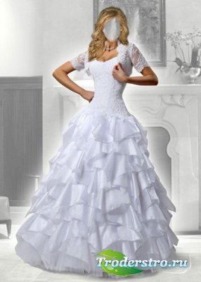 Шаблон для фотошоп - Lady невеста