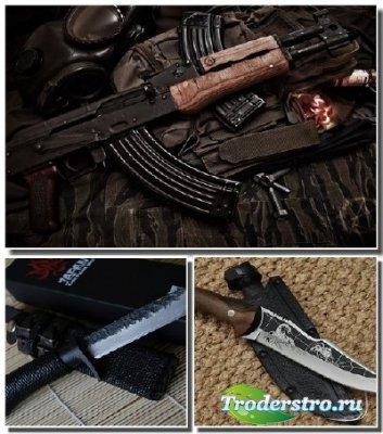 Обои - Холодное и огнестрельное оружие