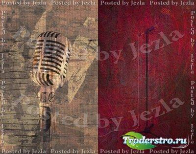 PSD Исходники - Микрофон