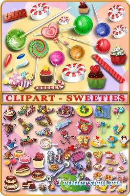 Клипарт - Сладости / Clipart - Sweeties