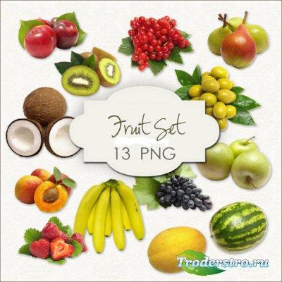 Клипарт фрукты